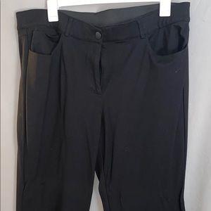 EUC Stretch Waist Lane Bryant Pants